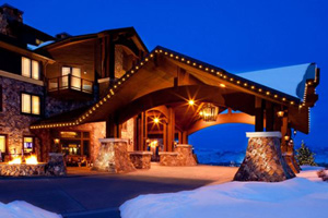 park city ski resort ski in and out  hotels